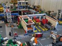 miasteczko z klocków Lego