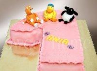 Tort na pierwsze urodziny dla dziecka