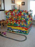 konstrukcja z klocków Lego Duplo