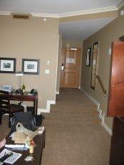 hotelowy korytarz