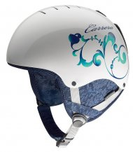 Kask Carrera Desire White Shiny Leaf